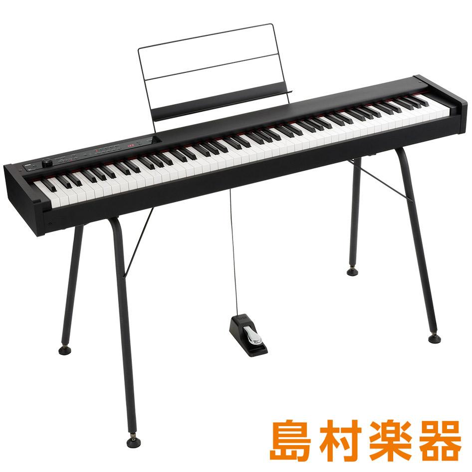 KORG D1 専用スタンドST-SV1-BKセット 電子ピアノ 88鍵盤 【コルグ】