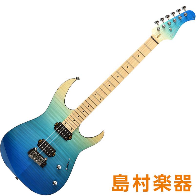Bacchus GRACE-FT FM/M BLU-GRD(ブルーグラデーション) エレキギター グローバルシリーズ 【バッカス】