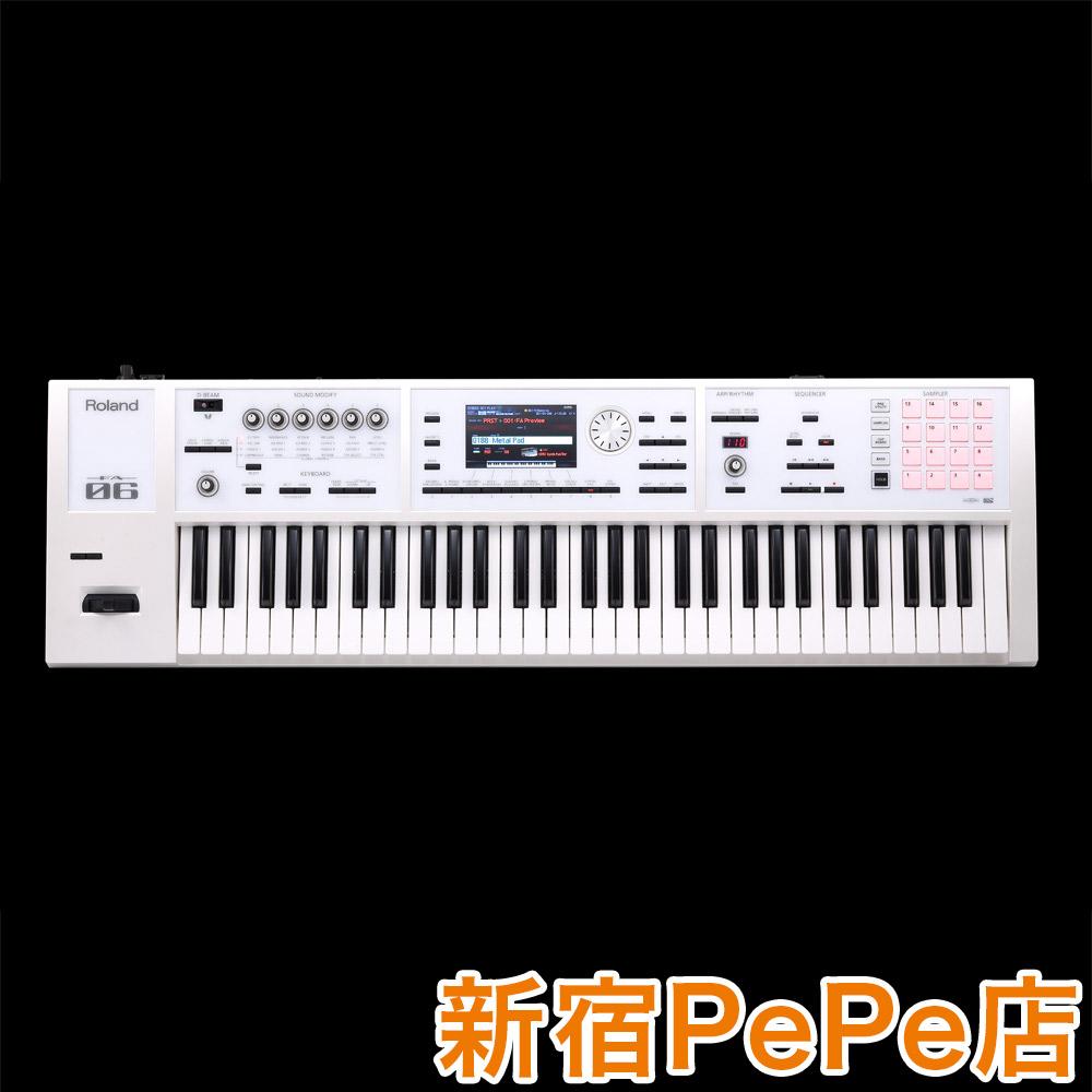 Roland FA-06-SC 限定ホワイト 61鍵盤 【島村楽器限定】 【オリジナルカラー