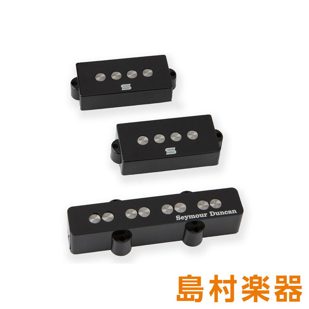 Seymour Duncan REX BROWN PJ EQ SET Black エレキギター用 ピックアップ 【セイモアダンカン】
