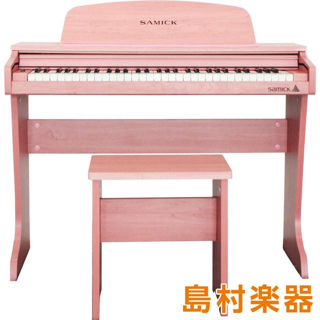 SAMICK 61 KID-O2 Pink ミニデジタルピアノ 【サミック】