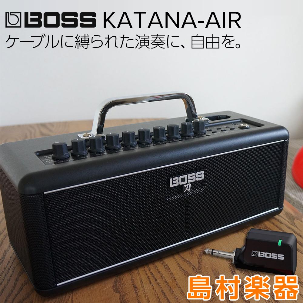 BOSS KATANA-AIR ギターアンプ KATANA-AIR ワイヤレス KTN-AIR ワイヤレス Bluetooth【ボス KTN-AIR 刀 カタナ】, 新宿 銀の蔵:0212d6ee --- reinhekla.no