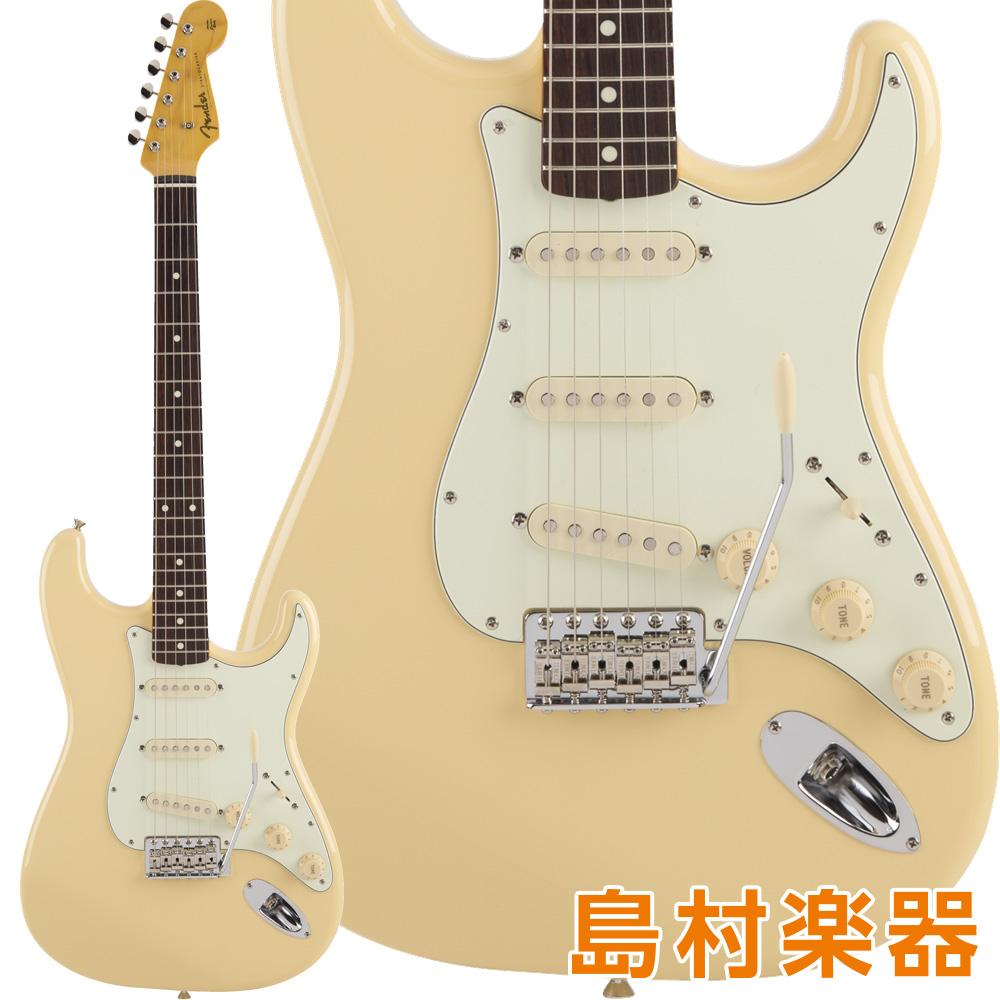 【クレジット無金利 10/31まで♪】Fender Made in Japan Traditional 60s Stratocaster, Rosewood Fingerboard, Vintage White エレキギター 【フェンダー】