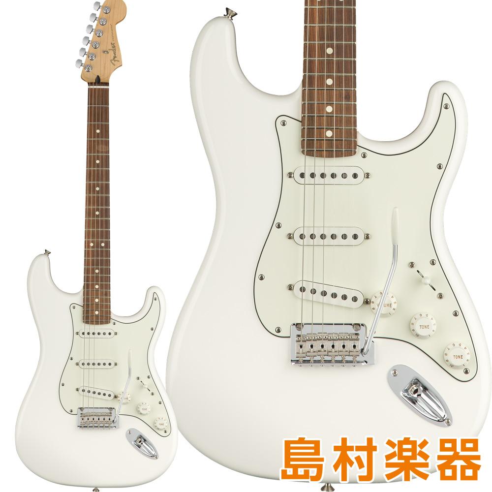 Fender Player Stratocaster Pau Ferro Fingerboard Polar White エレキギター 【フェンダー】