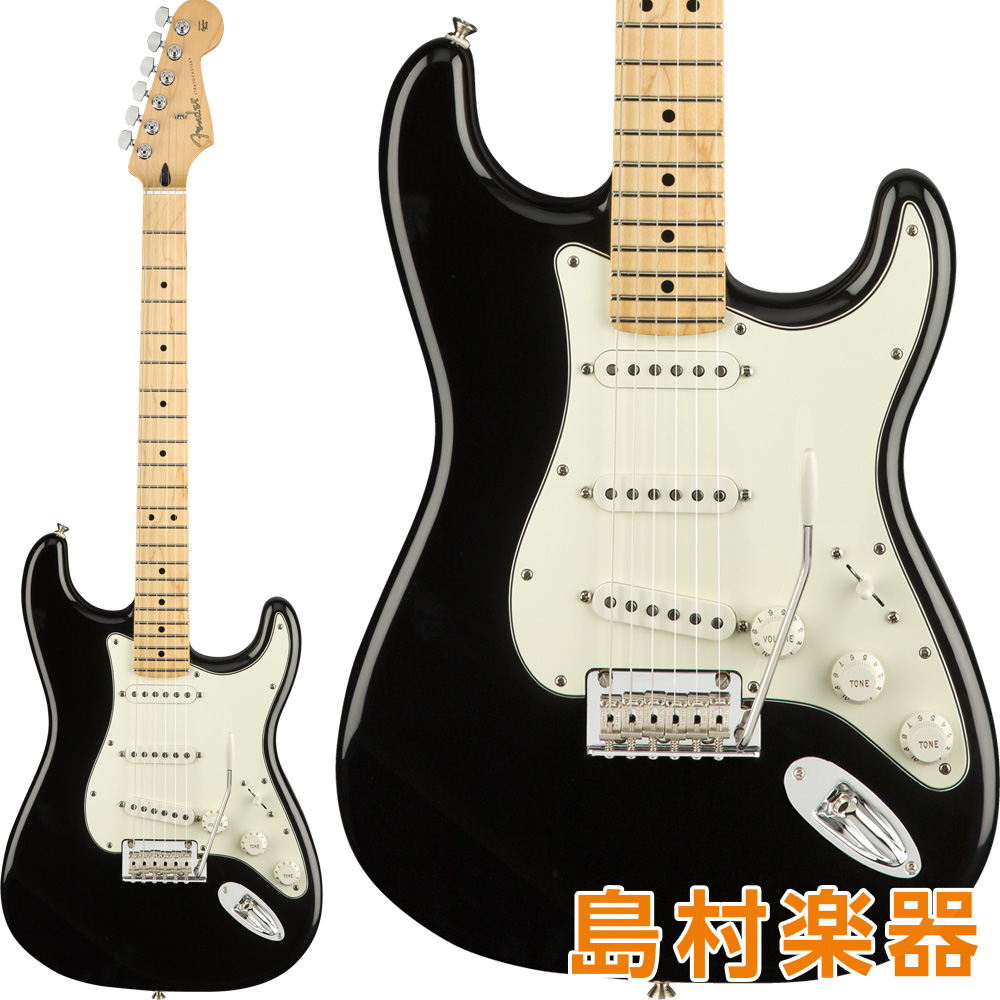 Fender Player Stratocaster Maple Fingerboard Black エレキギター 【フェンダー】