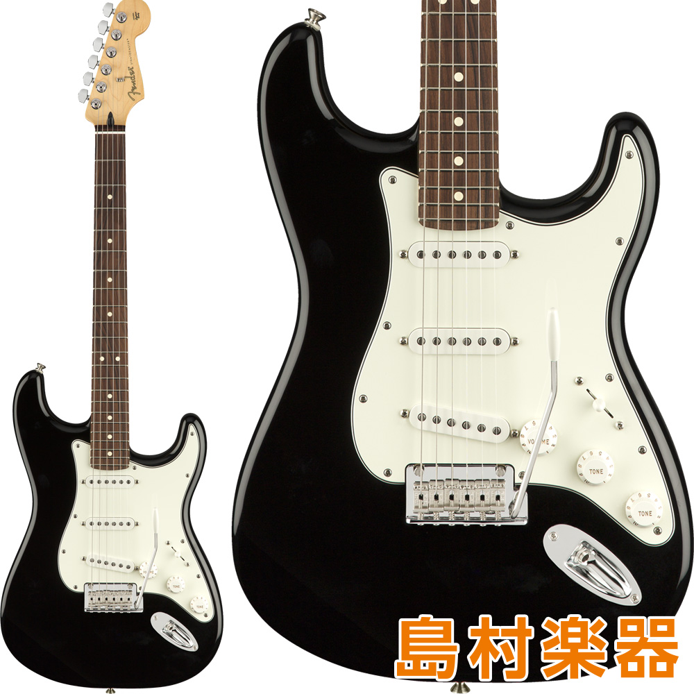 Fender Player Stratocaster Pau Ferro Fingerboard Black エレキギター 【フェンダー】