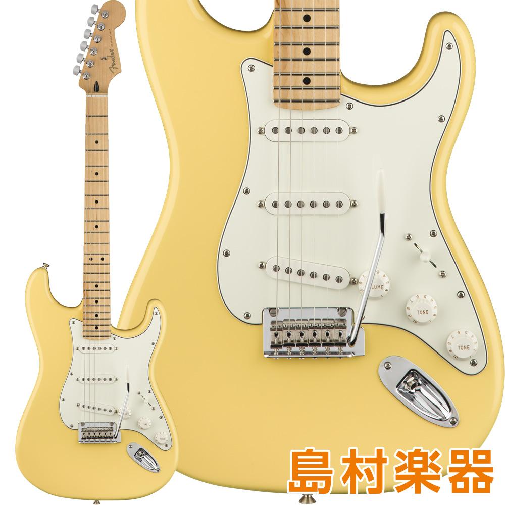 Fender Player Stratocaster Maple Fingerboard Buttercream エレキギター 【フェンダー】