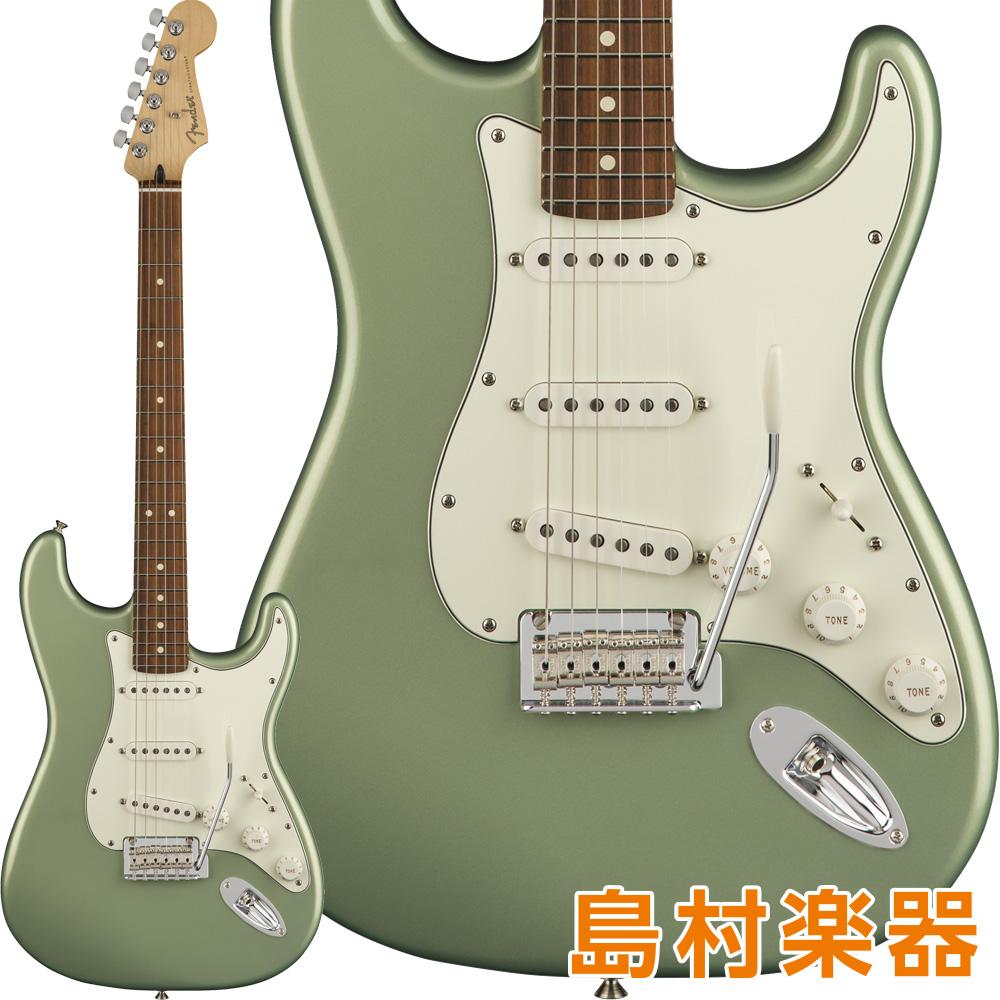 Fender Player Stratocaster Pau Ferro Fingerboard Sage Green Metallic エレキギター 【フェンダー】