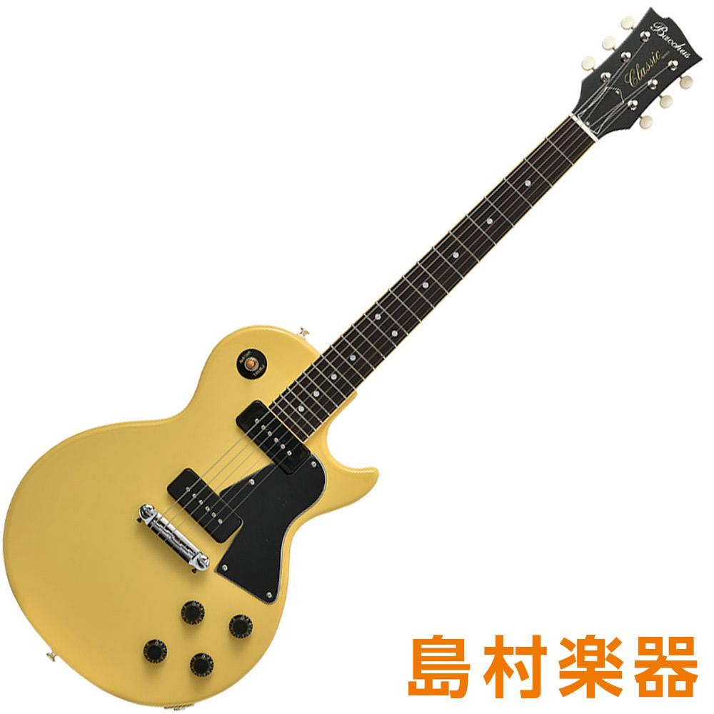 Bacchus BLS-JR/R TVY(ティービーイエロー) エレキギター クラフトシリーズ 【バッカス】