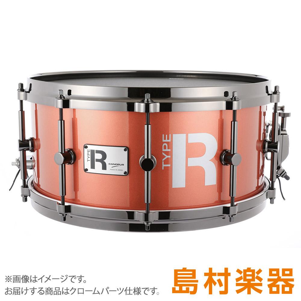 """CANOPUS MTR-1465-DH/CH CoronaMetallic スネアドラム Type-R """"BULLET"""" -Maple 10ply- 【カノウプス】"""