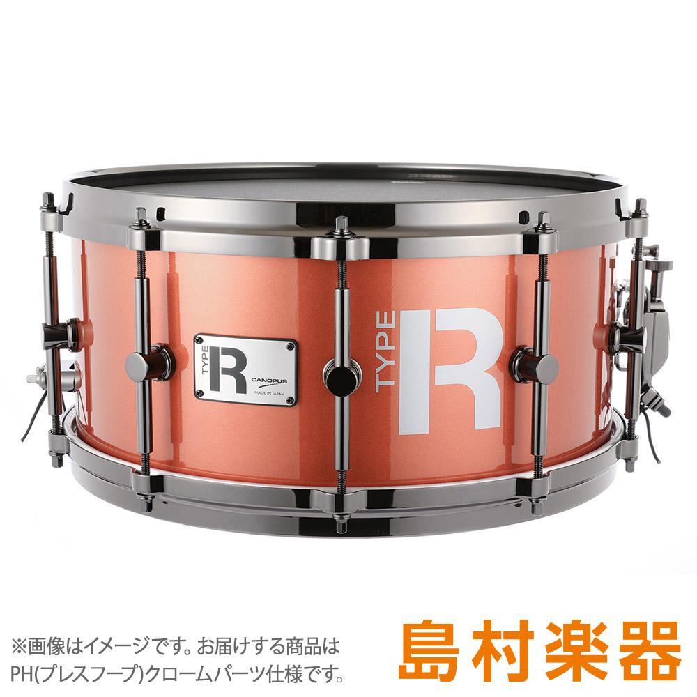 """CANOPUS MTR-1465-PH/CH CoronaMetallic スネアドラム Type-R """"BULLET"""" -Maple 10ply- 【カノウプス】"""