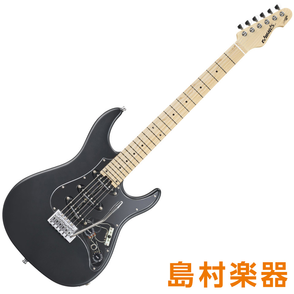 EDWARDS E-SYUNAPPER-I Black Satin エレキギター SYU Signature Model 【エドワーズ】