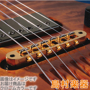 L.R.Baggs T-BRIDGE Chrome ピエゾ・ピックアップ内蔵 Electric Guitar Piezo Bridge 【LRバッグス】