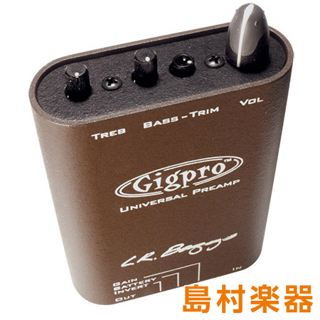 L.R.Baggs GIGPRO プリアンプ SINGLE CHANNEL BELTCLIP PREAMP 【LRバッグス】