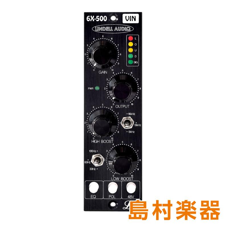 LINDELL AUDIO 6X-500VIN マイクプリアンプ 【リンデルオーディオ】