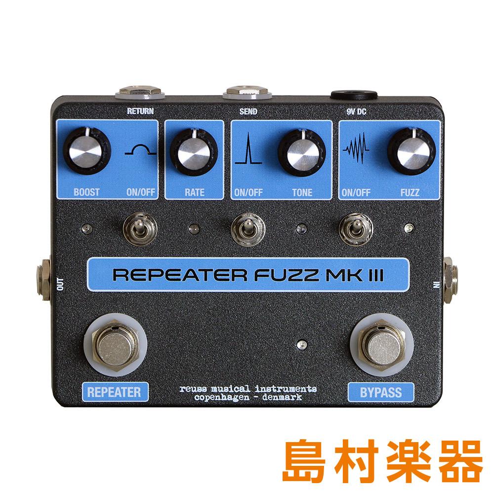 REUSS RF-03 RepeaterFuzzMK3 コンパクトエフェクター ファズ 【ロイス】