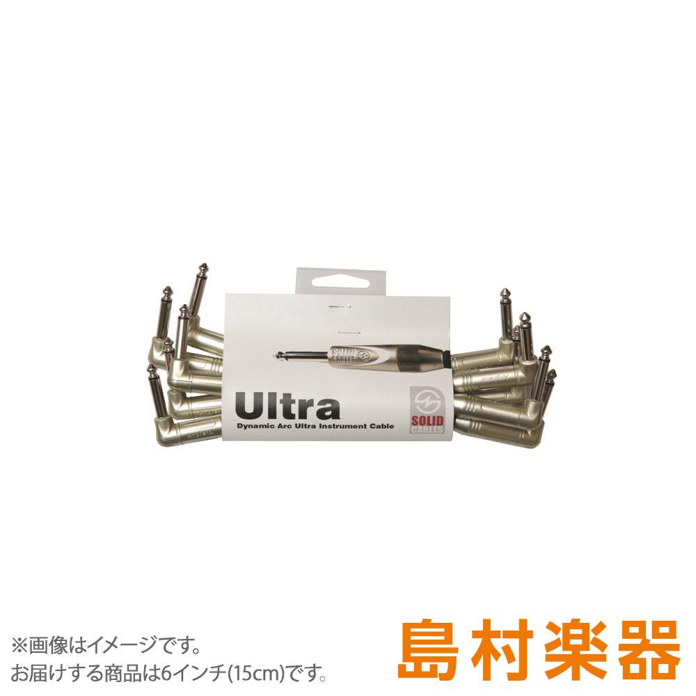 Solid Cables L/L Patch 6 inch (15cm) 5 Set パッチケーブル Dynamic Arc Ultra 【ソリッドケーブルズ】