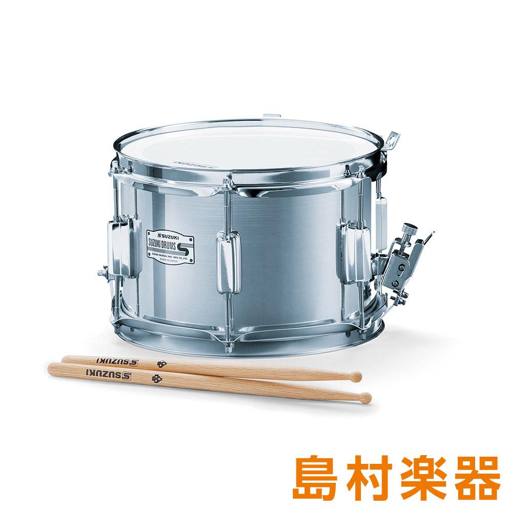 SUZUKI SMS-10C マーチングドラム メタルモデルシリーズ アルト スネア 10インチ×7.5インチ 【スズキ】