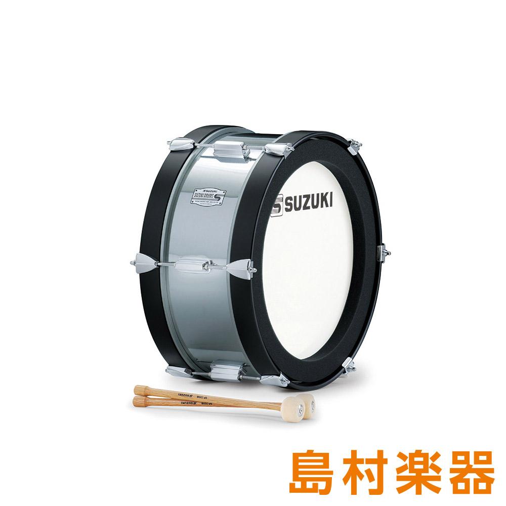 SUZUKI SMB-16C マーチングドラム メタルモデルシリーズ バス 10インチ×7.5インチ 【スズキ】
