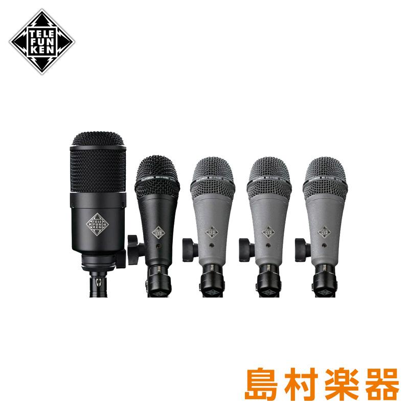 TELEFUNKEN DD5 マイクロホンセット Microphones Drum Pack 【テレフンケン】
