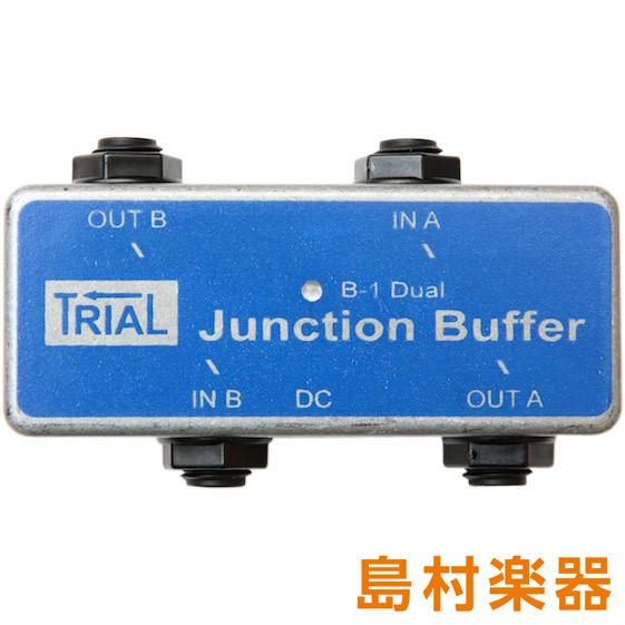 TRIAL Junction Buffer Dual コンパクトエフェクター ジャンクションボックス 【トライアル】