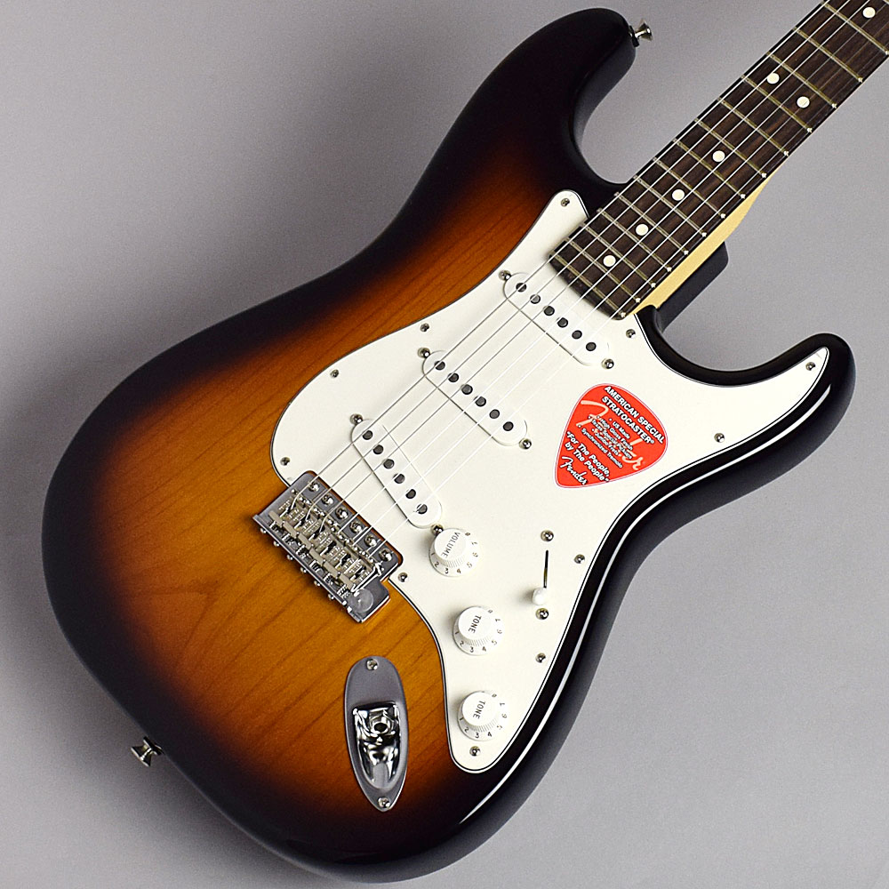 Fender American Special Stratocaster(2-Color Sunburst/Rosewood) ストラトキャスター 【フェンダー アメリカン・スペシャル】【福岡イムズ店】