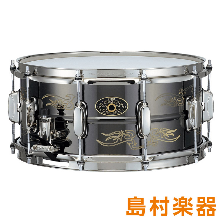 "TAMA KA1465 ""Trackmaster"" スネアドラム KENNY ARONOFF Signature Snare Drums 14インチ×6.5インチ 【タマ】"
