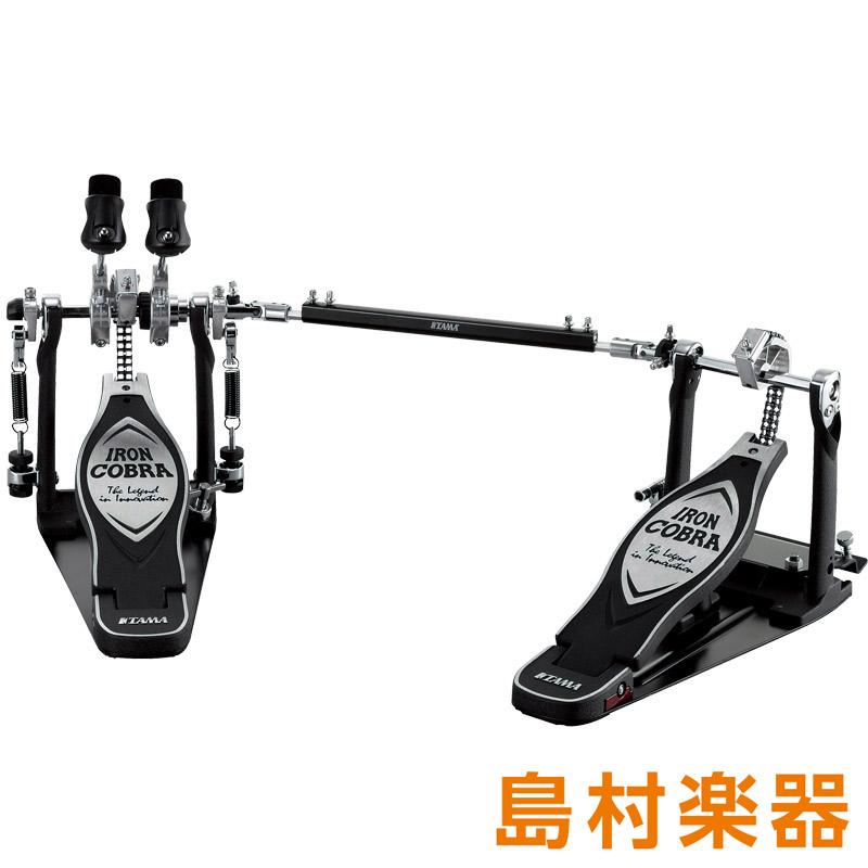 TAMA HP900PWLN ドラムペダル アイアンコブラ POWER GLIDE TWIN PEDAL (左利き用) 【タマ】