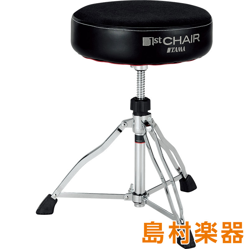 "TAMA HT430BC ドラムスローン 1st Chair ROUND RIDER TRIO ""CLOTH TOP"" 【タマ】"