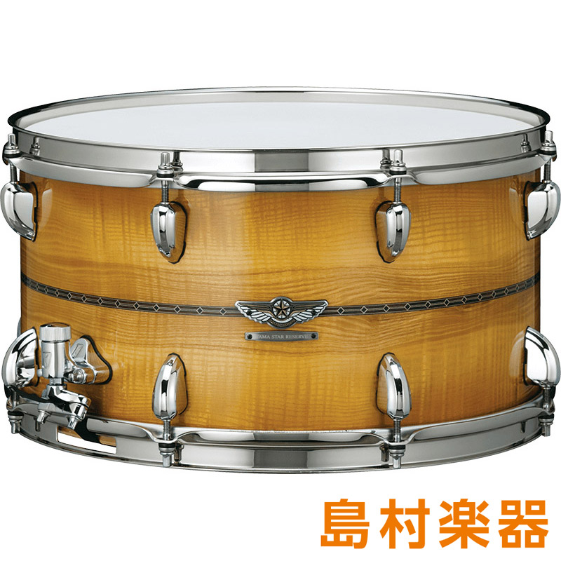TAMA TMBS158SO Caramel Olive Ash Burst スネアドラム STAR Reserveシリーズ Vol.2 【タマ】