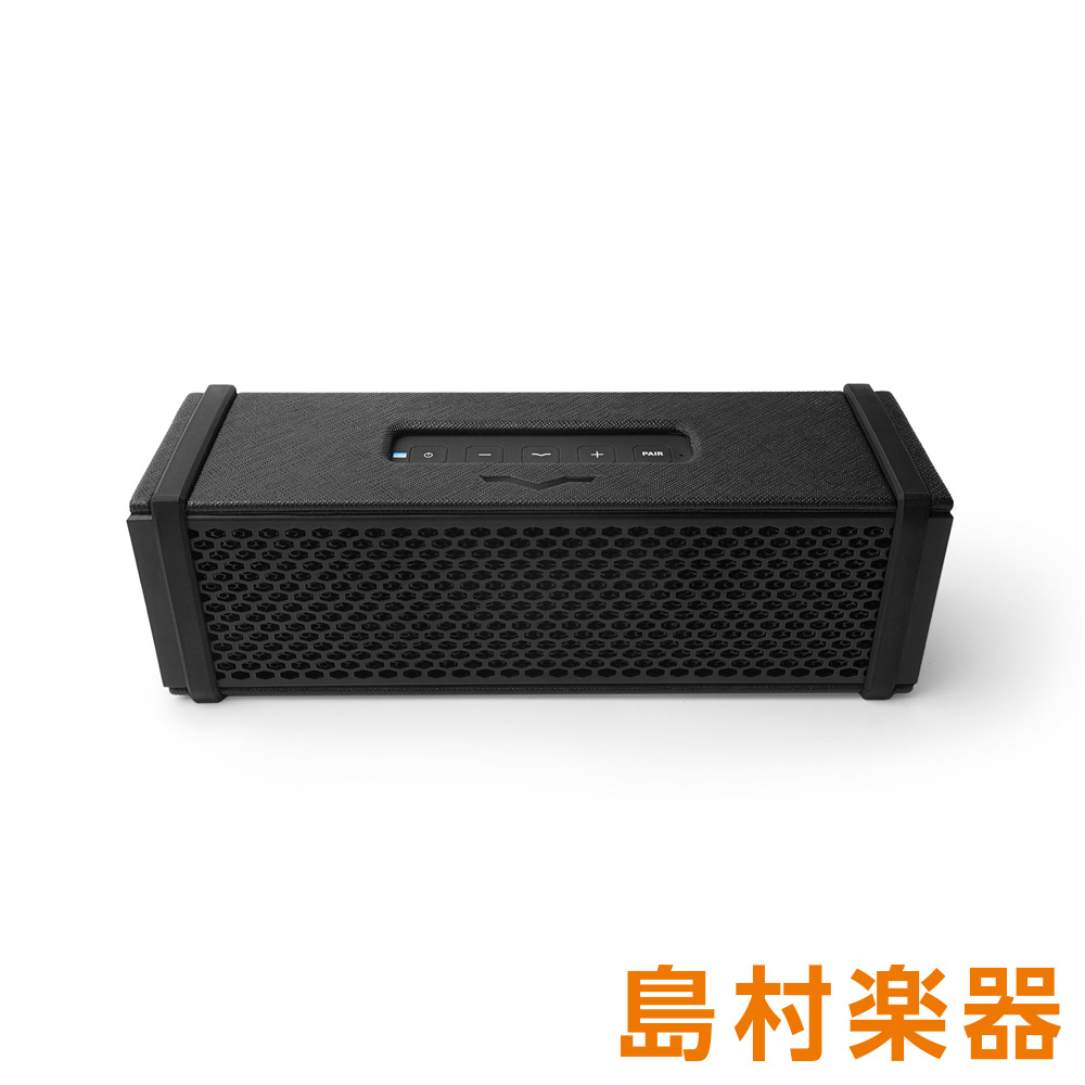 V-MODA REMIX-BLACK ブラック(Black Leather) Bluetooth V-MODA ポータブル・ワイヤレス・スピーカー 【ブイモーダ】
