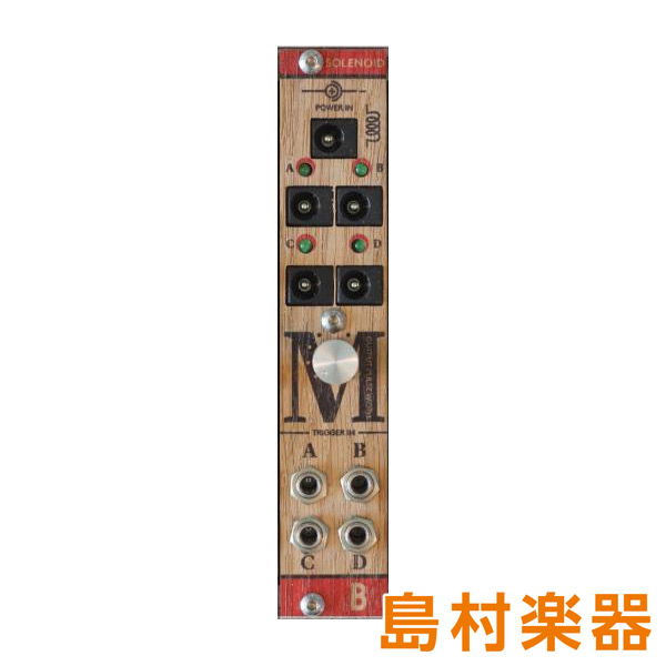 Bastl Instruments SOLENOID ユーロラック モジュラーシンセ 【バストルインストゥルメンツ】