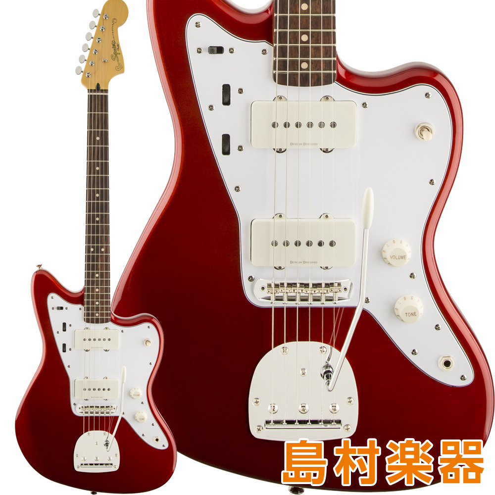 Squier by Fender Vintage Modified Jazzmaster Laurel Fingerboard Candy Apple Red エレキギター 【スクワイヤー / スクワイア】