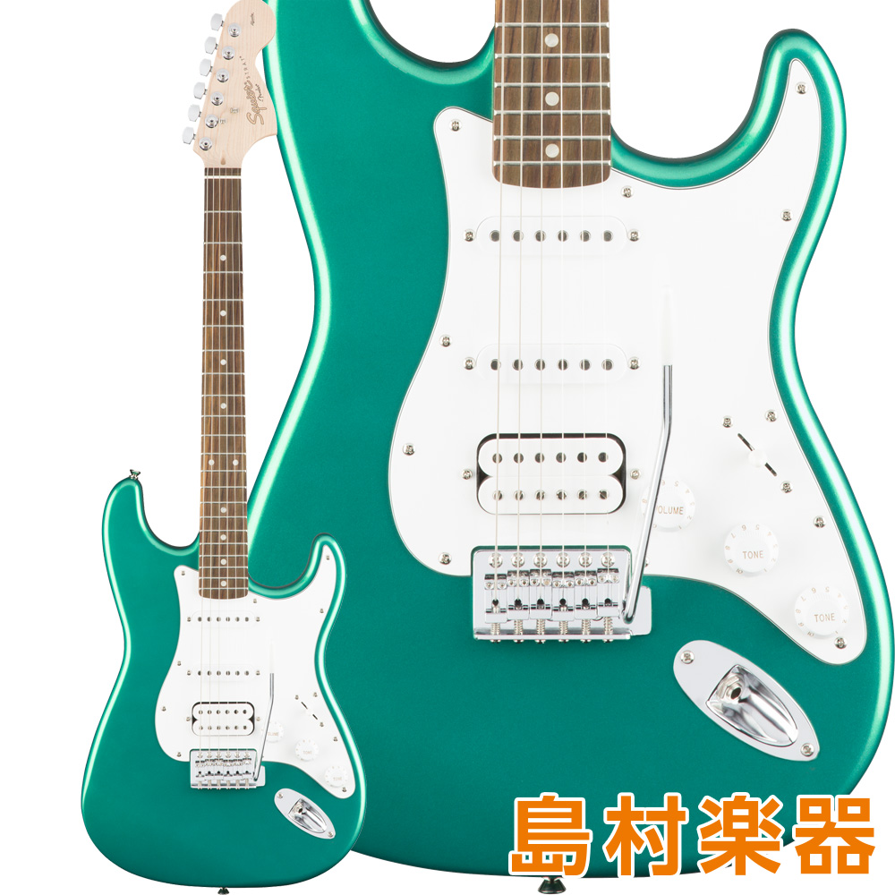 Squier by Fender Affinity Series Stratocaster HSS Rosewood Fingerboard Race Green エレキギター 【スクワイヤー / スクワイア】