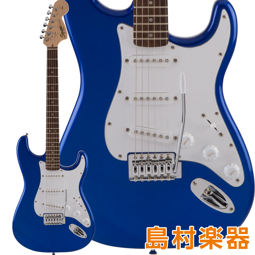 Squier by Fender Affinity Series Stratocaster SSS Laurel Fingerboard Imperial Blue エレキギター 【スクワイヤー / スクワイア】
