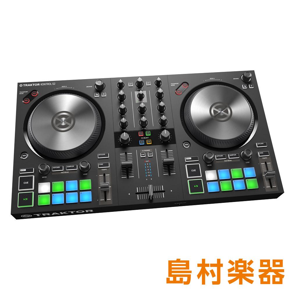 Native Instruments(NI) TRAKTOR KONTROL S2 MK3 DJコントローラー 【ネイティブインストゥルメンツ】