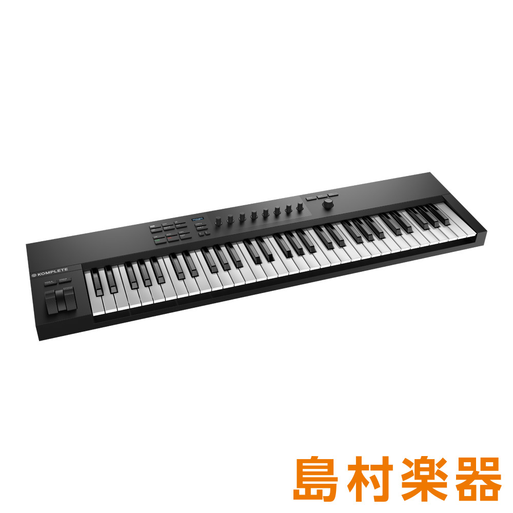 Native Instruments(NI) KOMPLETE KONTROL A61 MIDIキーボード 61鍵盤 【ネイティブインストゥルメンツ】