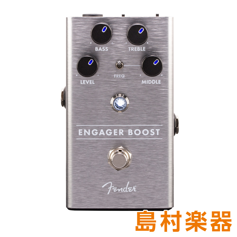 Fender Engager Boost コンパクトエフェクター ブースター 【フェンダー】