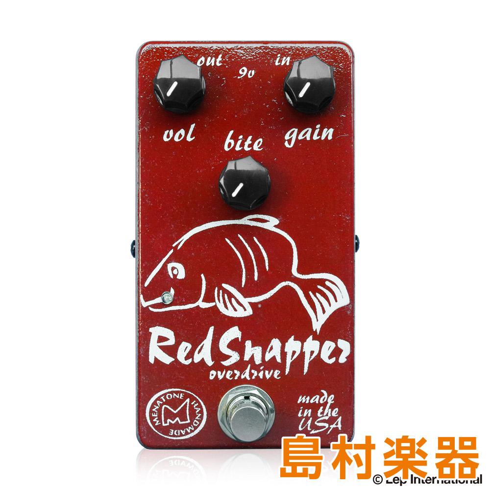 Menatone Red Snapper 3knob コンパクトエフェクター オーバードライブペダル 【メナトーン】