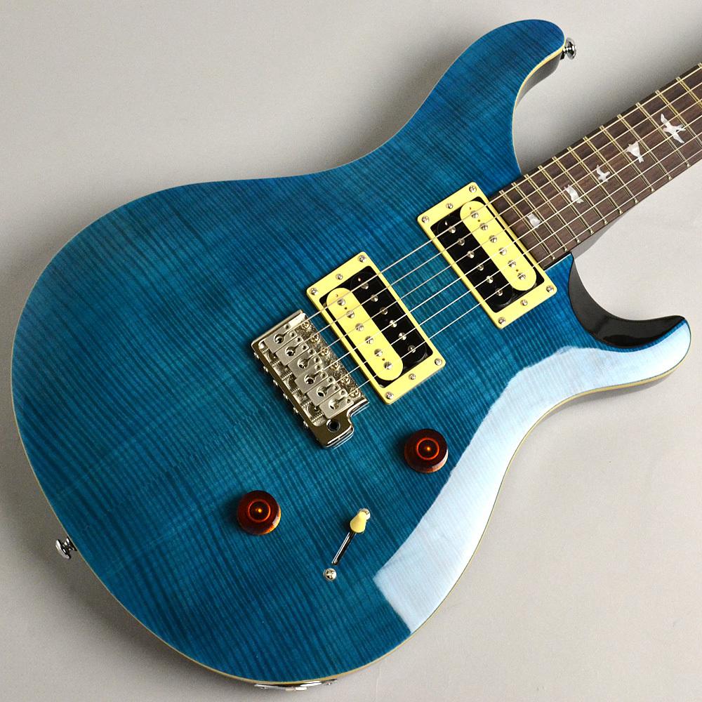 PRS SE Custom24 N/Blue Matteo #R19414 エレキギター 【ポールリードスミス(Paul Reed Smith)】【イオンモール幕張新都心店】【現物画像】
