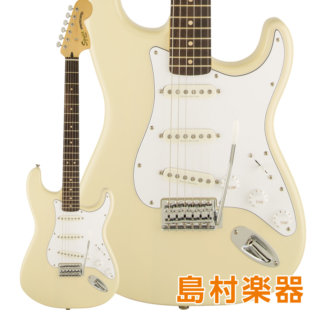 Squier by Fender Vintage Modified Stratocaster Laurel Fingerboard Vintage Blonde エレキギター 【スクワイヤー / スクワイア】
