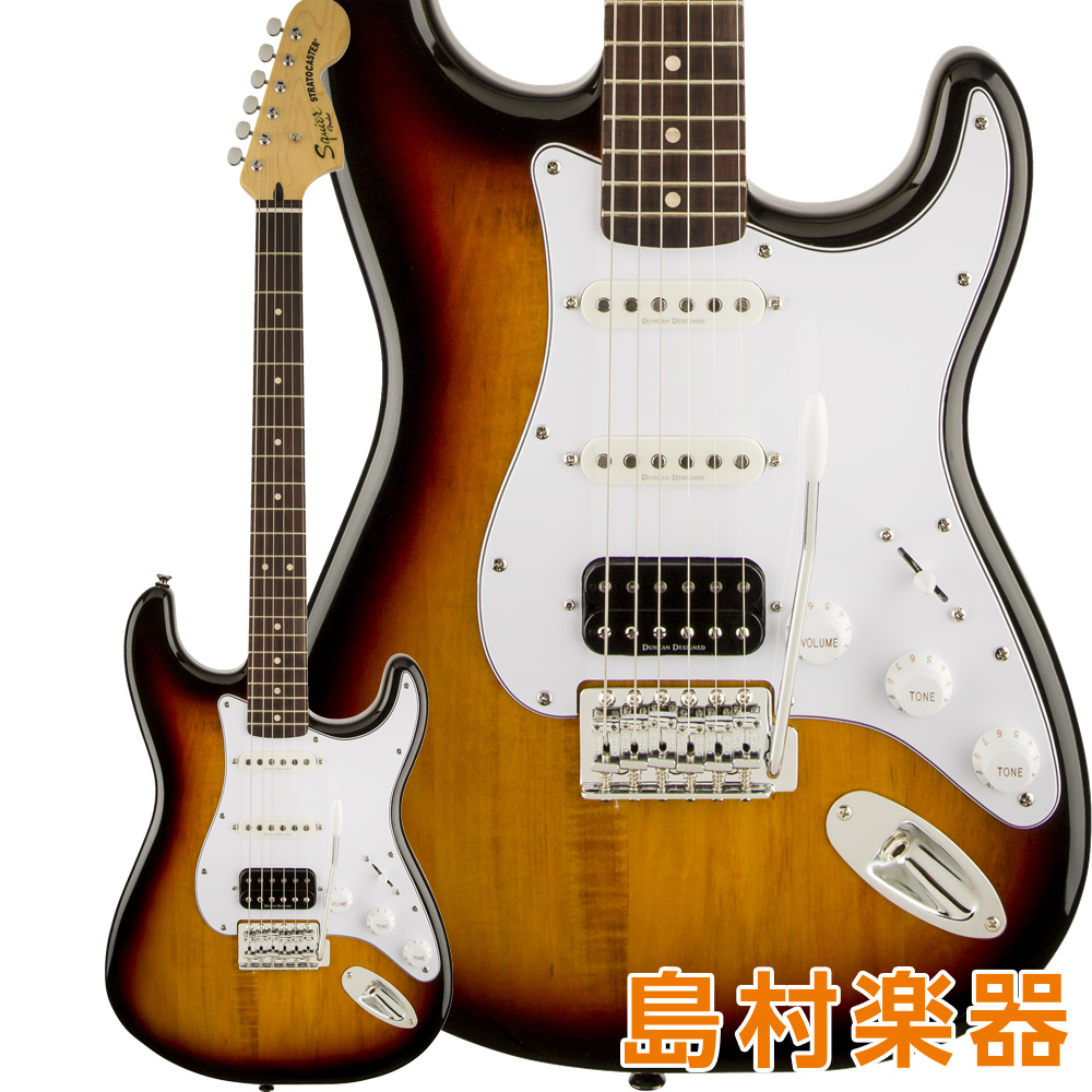 Squier by Fender Vintage Modified Stratocaster HSS Laurel Fingerboard 3-Color Sunburst エレキギター 【スクワイヤー / スクワイア】