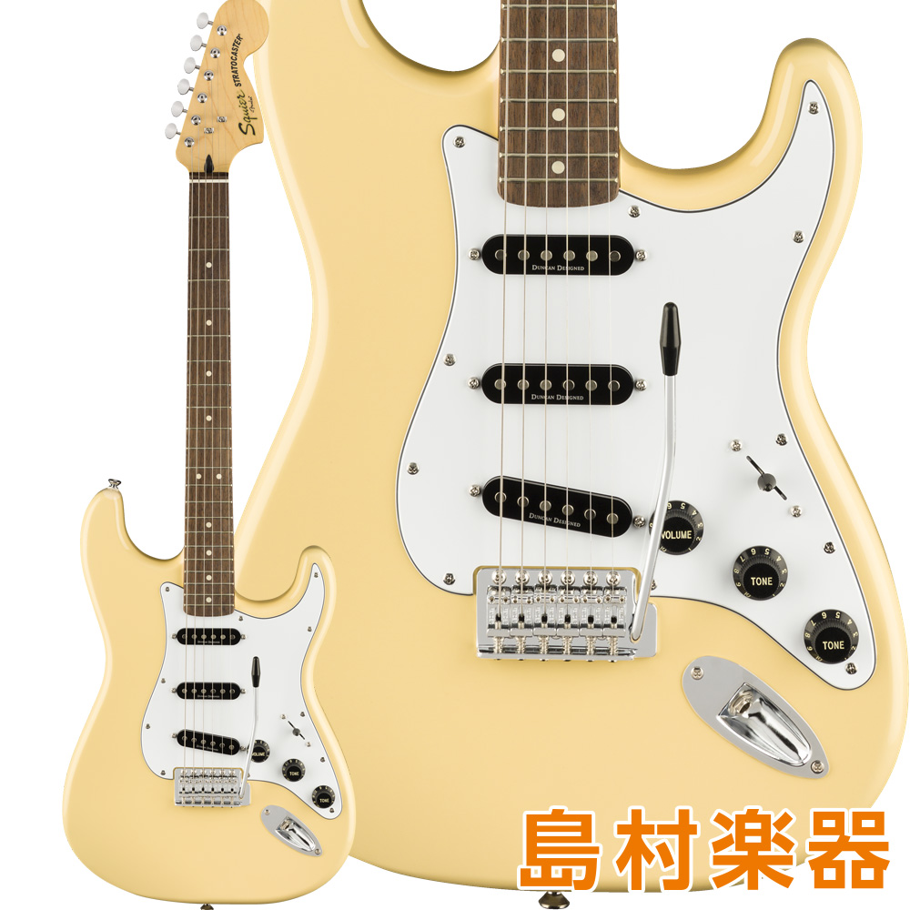 Squier by Fender Vintage Modified '70s Stratocaster Laurel Fingerboard Vintage White エレキギター 【スクワイヤー / スクワイア】