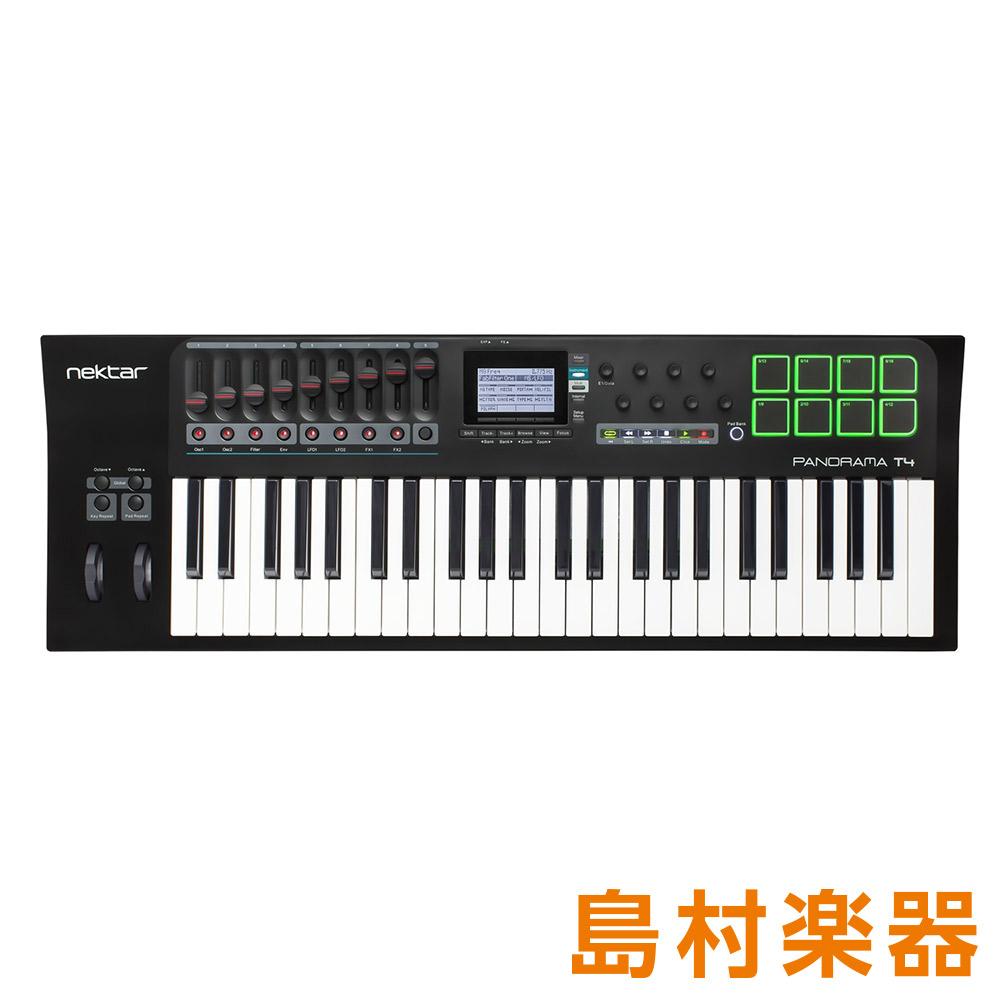 Nektar T4 Technology Panorama 49鍵盤 T4 49鍵盤 MIDIコントローラー【ネクターテクノロジー Technology】, LIBERTE:dea65878 --- ww.thecollagist.com