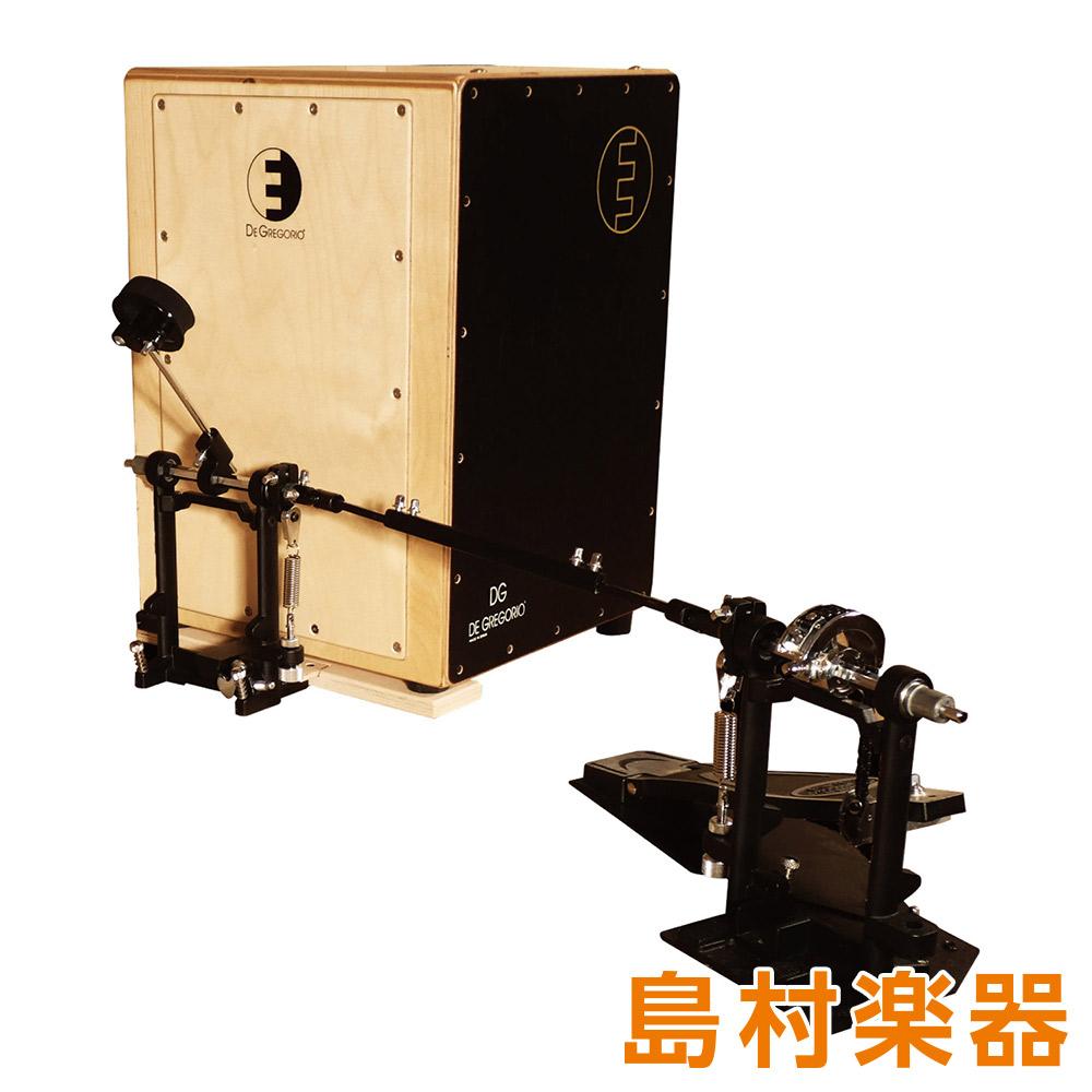 DE GREGORIO DrumBox Standard pedal set フットペダル付き カホン 【ディグレゴリオ】