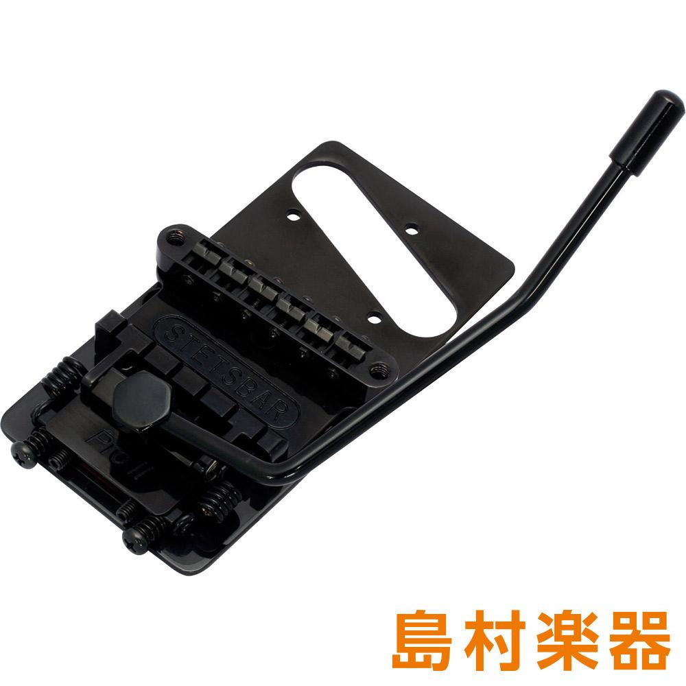 STETSBAR T-STYLE MODEL BLACK CHROME トレモロブリッジ STETSBAR TL用 【ステッツ・バー】