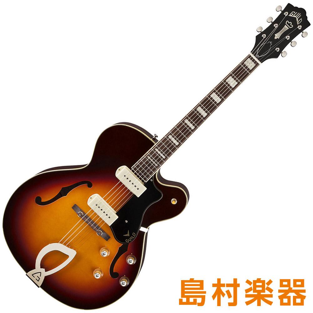 Guild X-175 MANHATTAN Antique Burst フルアコギター NEWARK ST. COLLECTION 【ギルド】