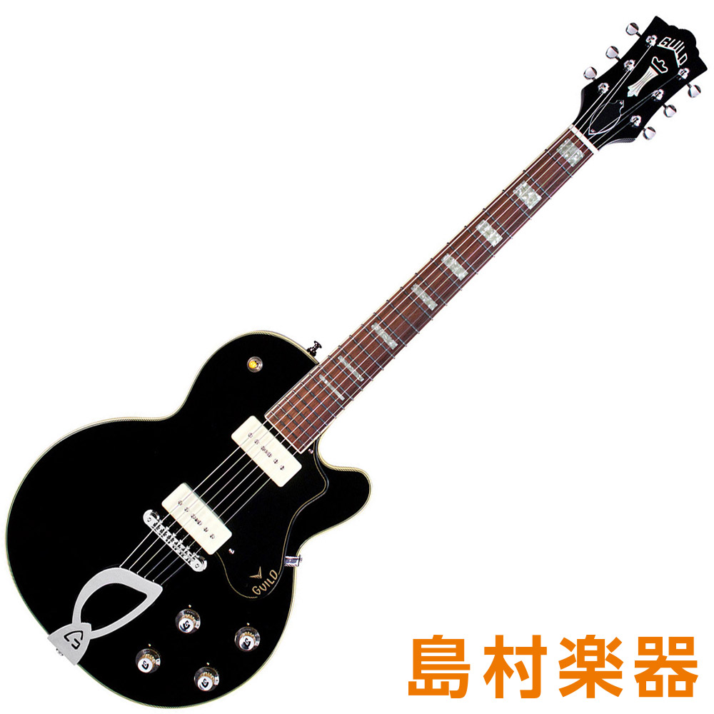 Guild M-75 Aristorat Black フルアコギター NEWARK ST. COLLECTION 【ギルド】