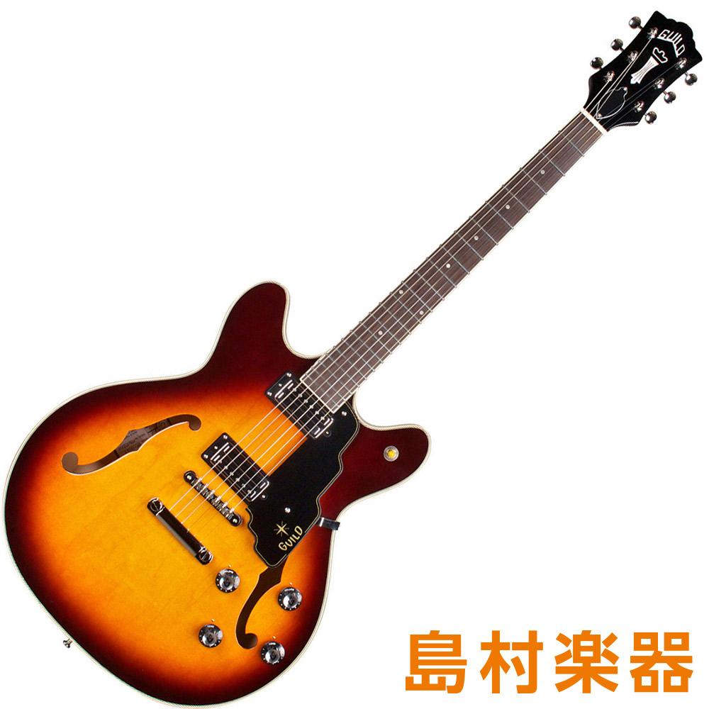 NEWARK 【ギルド】 ST. Guild セミアコギター ST STARFIRE COLLECTION IV Antique Burst