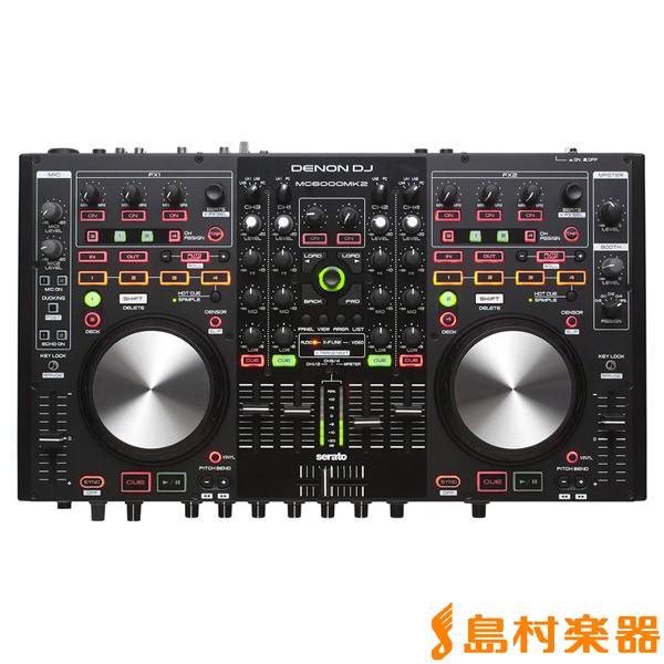 DENON DENON DJ MC6000MK2 MC6000MK2 DJコントローラー DJ【デノン】, ナナエチョウ:79292aed --- bistrobla.se